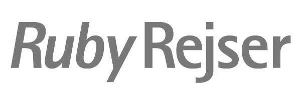 rubyrejser_logo_BW